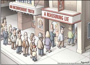Uma Verdade Inconveniente. Uma Mentira Reconfortante